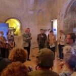 "Inauguration de l'exposition ""Verre de terre et verre de mer""."