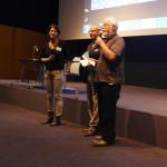 Claudine Munier (présidente de l'AFAV), Claude Vilcot (vice-président de la Communauté de communes Opale-Sud) et Georges Dilly, conservateur du Musée Opale-Sud.