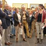 Musée Opale Sud, Inauguration de l'exposition