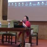 Présentation du programme par Isabelle Commandré.