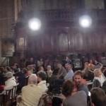 Concert d'orgues dans la cathédrale pour les membres de l'AFAV.