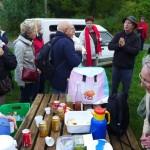 L'accueil des bénévoles de l'association Salicorne.
